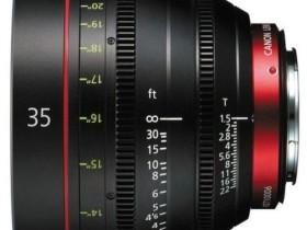 佳能CN-E 35mm T1.5 L F电影头 香港发售