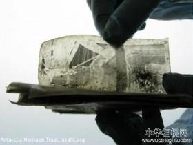 南极发现100年前的负片 并修复成功