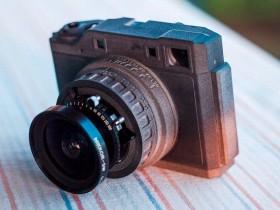 用3D打印自制一部6×7中画幅旁轴相机