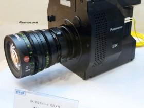 松下展示搭载有机传感器技术的8K摄像机原型机!
