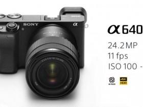 索尼正式发布A6400相机
