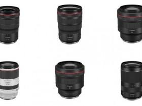 佳能宣布研发六款RF无反新镜头