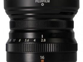 富士发布XF 16mm f/2.8 R WR镜头