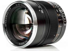 中一光学正式发布新款 Mitakon Speedmaster 50mm f/0.95 Mark III 无反镜头