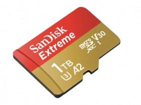 """""""世界上最快的""""1TB microSD闪迪存储卡,售价3,453元"""