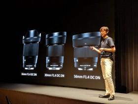 适马秋季将发布佳能EF-M卡口16mm、30mm和56mm定焦镜头
