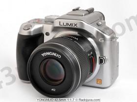永诺42.5mm f/1.7 MFT镜头曝光