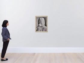 Banksy背面肖像拍出35,000英镑
