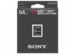 索尼发布QDG64F XQD G系列卡,读取速度440MB/s,写入速度400MB/s