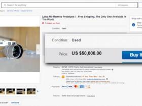 一款罕见的徕卡M9-P原型相机在eBay售价高达35万元!