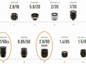 KMZ将在2020年为尼康F卡口推出三款泽尼特新镜头
