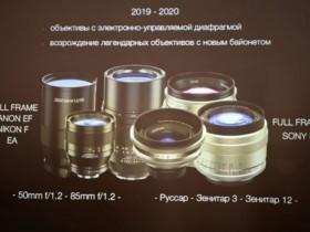 泽尼特将专为索尼E卡口推出新款镜头
