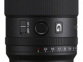 索尼发布FE 20mm F1.8 G新镜头