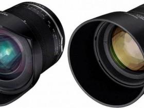 三阳即将发布MF 14mm F2.8 UMC II和MF 85mm F1.4 UMC II新镜头