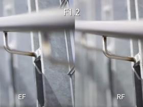 佳能RF 85mm F1.2 L USM镜头VS佳能EF 85mm F1.2 L USM镜头