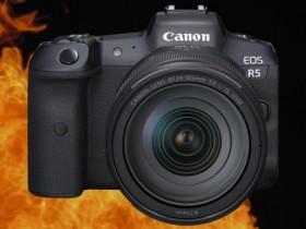 佳能发布EOS R5相机机身过热问题声明