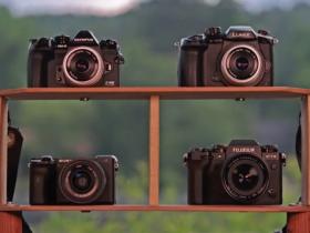 图像稳定系统对比:松下GH5VS富士X-T4VS奥林巴斯E-M1 IIIVS索尼A6600相机