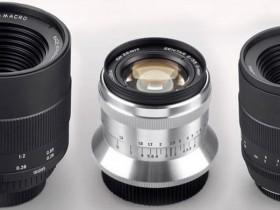 泽尼特即将发布60mm F2.8、58mm F1.9、35mm F2.0镜头