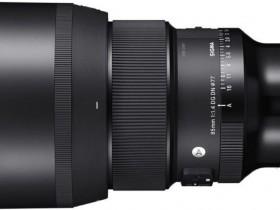 适马85mm F1.4 DG DN Art镜头外观照曝光