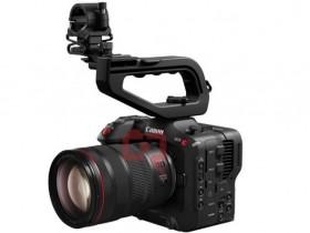佳能Cinema EOS C70摄像机外观照曝光