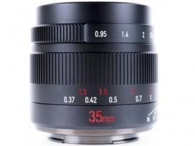 七工匠正式发布35mm F0.95镜头