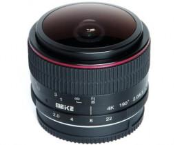 美科正式发布适用于尼康Z卡口6.5mm F2鱼眼镜头
