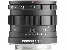 梅耶即将发布Primoplan 58 F1.9 II镜头