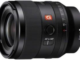 索尼35mm F1.4 GM镜头外观照曝光