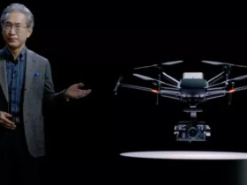 索尼即将发布全新Airpeak无人机