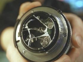 镜头后组镜片完全破碎,猜猜还能拍摄出什么效果?!