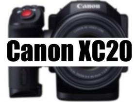 佳能XF505、XC20摄像机规格曝光