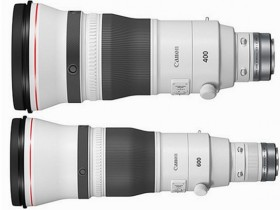 佳能正式发布RF 400mm F2.8 L IS USM、RF 600mm F4 L IS USM镜头