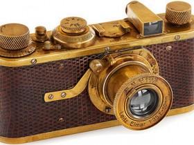 """这款""""豪气十足""""的徕卡I Mod.C Luxus相机拍卖估价高达78万元!"""