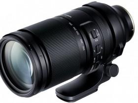 腾龙150-500mm F5-6.7 Di III VC VXD镜头外观照和规格曝光