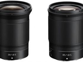 尼康发布NIKKOR Z 20mm F1.8 S、NIKKOR Z 85mm F1.8 S镜头1.01版本升级固件