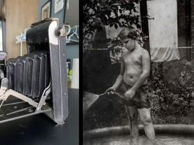 摄影师在1923年的老式柯达相机中发现了还未冲洗的胶卷?!