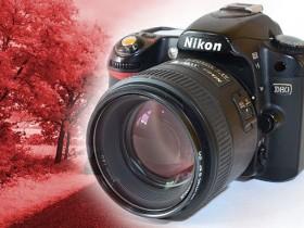如何将尼康D80相机改制成红外相机?!