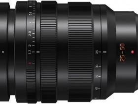 松下即将发布LEICA DG 25-50mm F1.7镜头
