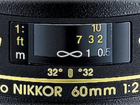 尼康AF-S Micro NIKKOR 60mm F2.8G ED镜头现已停产