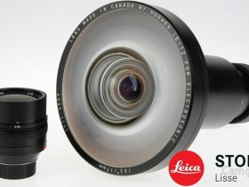这只极其罕见的徕卡17mm F2鱼眼原型镜头售价高达30.5万元!