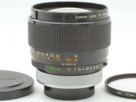 这只佳能85mm f1.2 FD SSC Aspherical镜头价值14.9万元?!