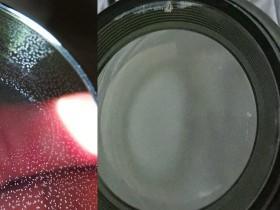 如何去除胶合镜头镜片中的真菌?