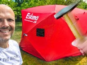 如何将冰钓帐篷变身为大型可移动暗房?!