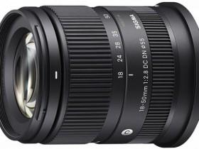 适马正式发布18-50mm F2.8 DC DN Contemporary镜头