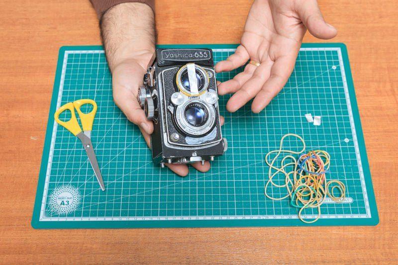 双反相机更容易对焦的简单DIY技巧