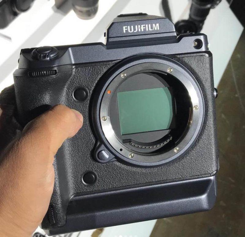 富士GFX 100首批原型机照曝光