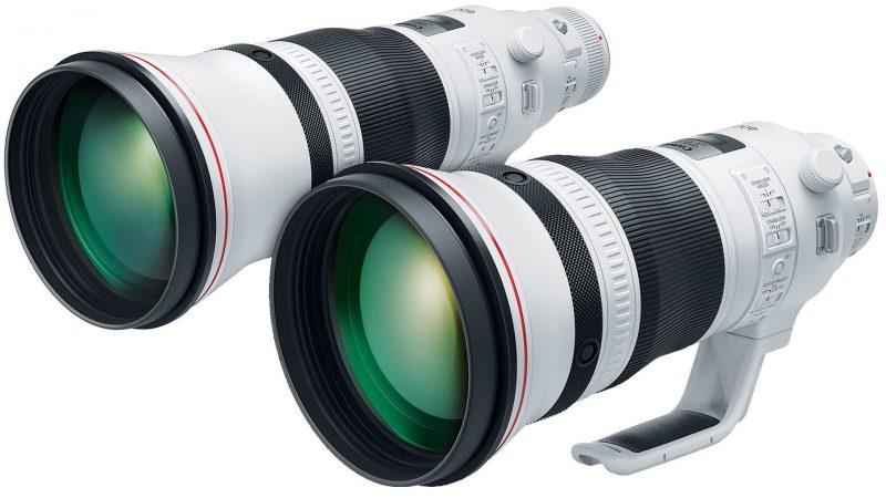 佳能公布多款长焦镜头专利