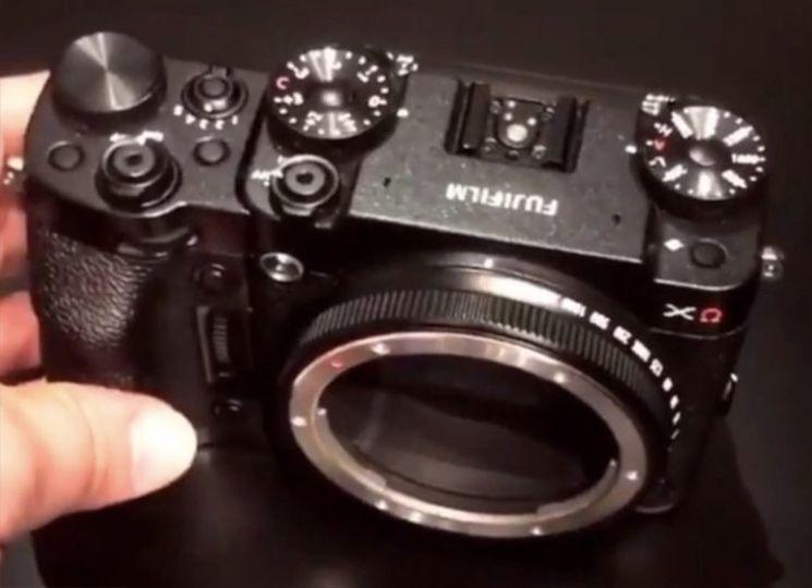 富士正在研发中画幅GFX模块化相机