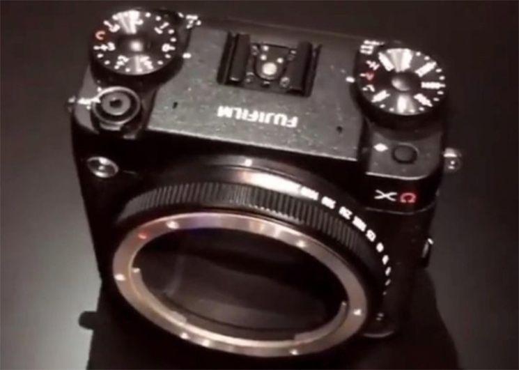 最新视频展示富士GFX模块化相机