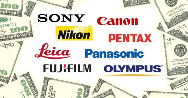 各品牌一套专业级别相机和镜头设备到底要花费多少?